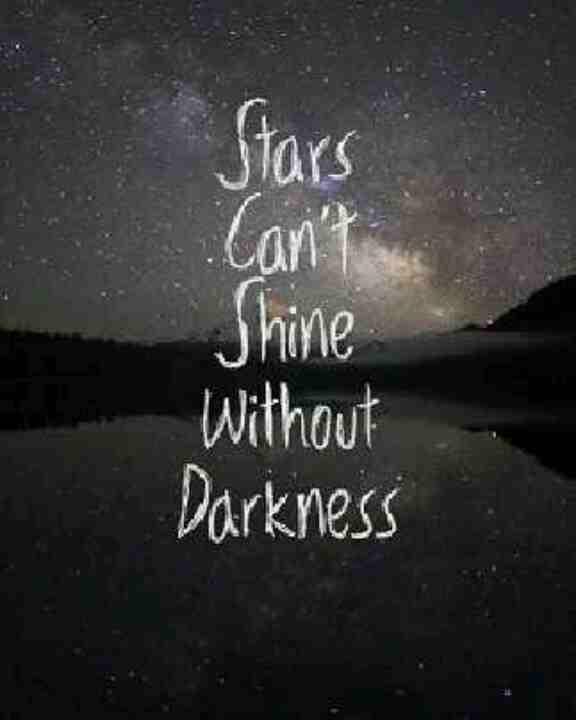 Stars darkness quote