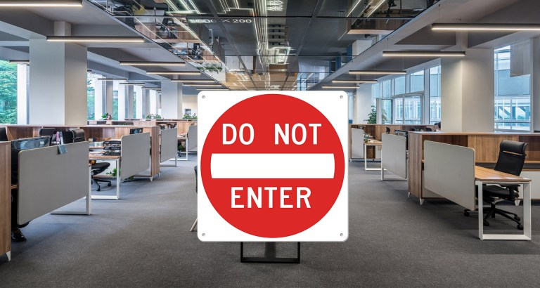Do-not-enter-office