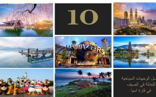 أفضل 10دول للسياحة العائلية في آسيا