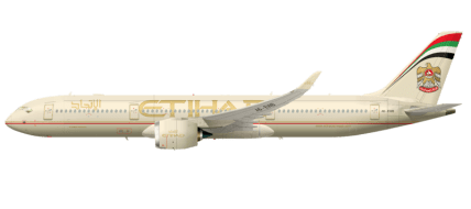Profile-of-an-Airbus-A350XWB-on-Etihad-Airways