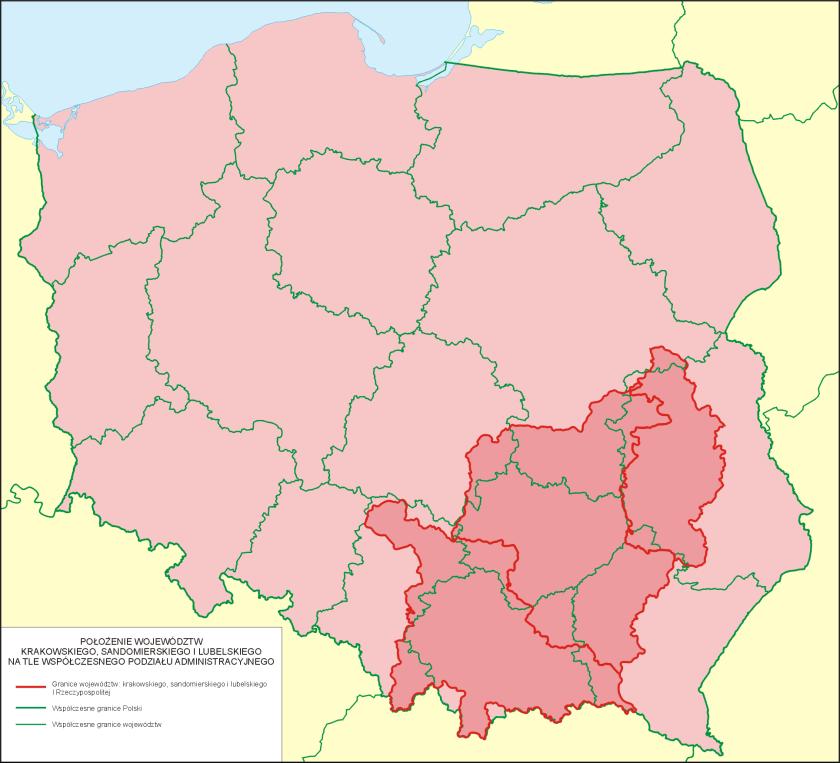 Krakowskie_sandomierskie_lubelskie