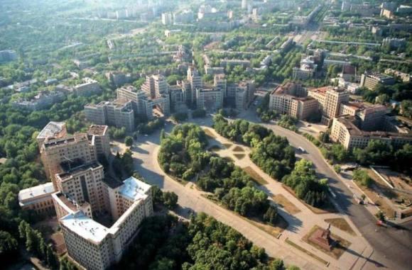 ساحة الحرية خاركيف أوكرانيا