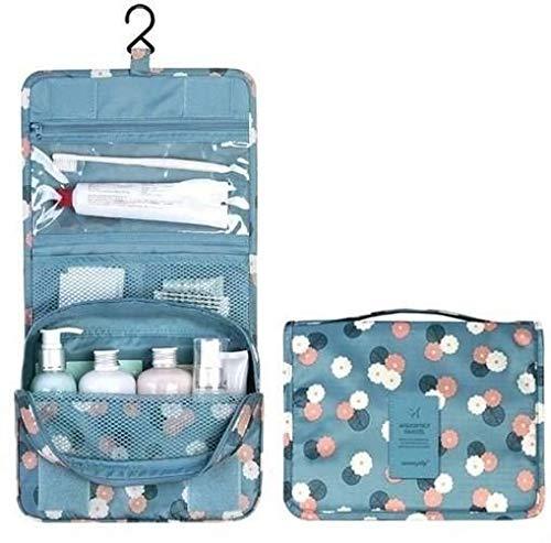 حقيبة تجميل قابلة للطي ومضادة للماء،