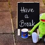 ¡Tómate un descanso!
