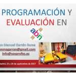 """Presentación del Curso """"Programación y Evaluación en ABN"""""""