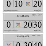 BINGO ABN: Cartones Resta Fase 7