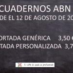 Nuevo precio Cuadernos ABN de Sara Herrera