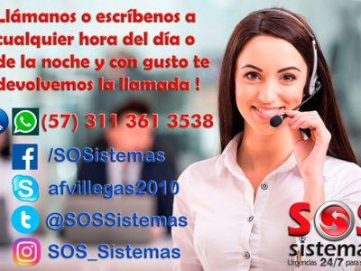 Bienvenidos a SOS Sistemas