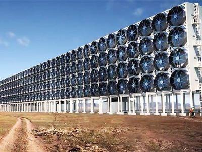 Una planta industrial capaz de capturar el dióxido de carbono directamente del aire