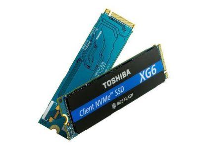Toshiba presenta la nueva SSD: XG6