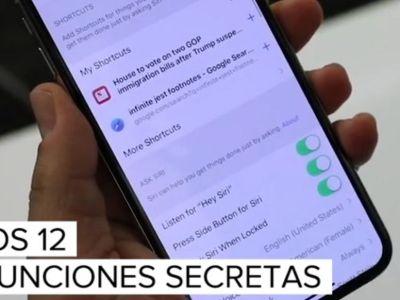 10 funciones escondidas en iOS 12 que debes conocer ya