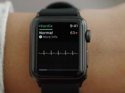 Los electrocardiogramas llegarán al Apple Watch Series 4 con watchOS 5.1.2