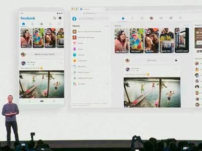 Facebook anuncia un rediseño total para su plataforma web y móvil
