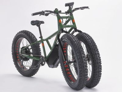 Rungu Electric Juggernaut, la bicicleta eléctrica todoterreno de tres ruedas