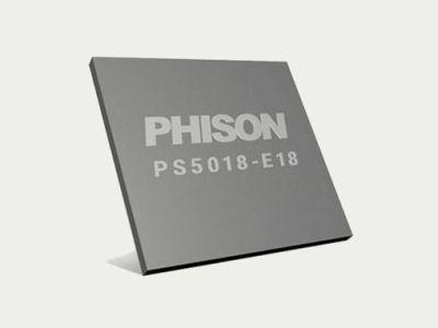 Phison anuncia el controlador E18 de SSD tipo PCIe 4.0, y alcanza los 7 GB/s
