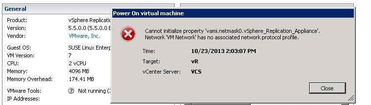 vCenter Replication 5 5 appliance install | SOSTechBlog com
