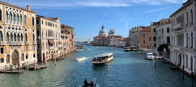 'Buona Notte Venezia'- Our Trip to Venice & more