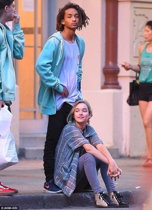 Jaden Smith Holding Hands With New Girl! 'Disses Amandla Stenberg'