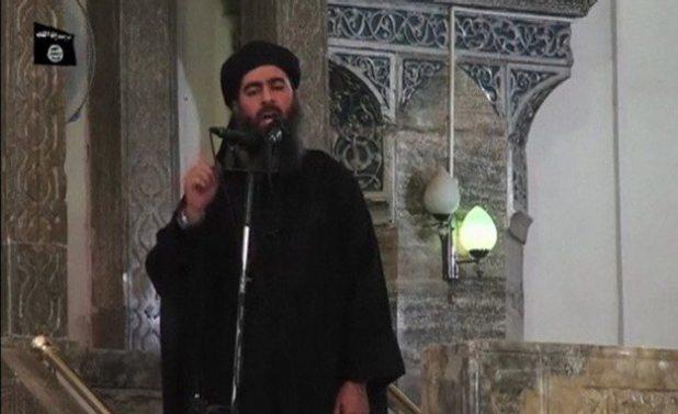 ISIS leader Abu Bakr al-Baghdadi. Reuters TV / Reuters
