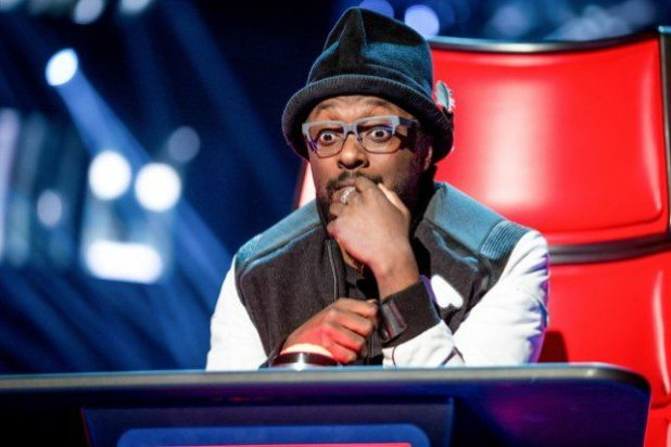 will.i.am is said to have been particularly impressed with his colleague's conquest (Picture: BBC)