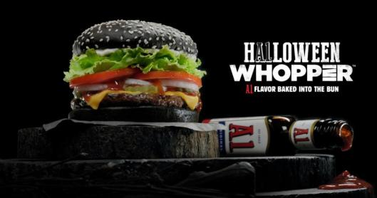 Burger King Halloween Black Whopper Turns People's Feces Green