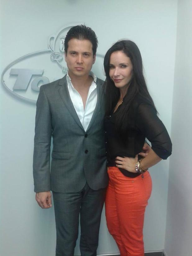 Businessman Carlos Rincon and wife Adriana Campos ---a Colombian actress, have passed away November 3rd, 2015 in tragic automobile accident. Facebook/@AdrianaCampos