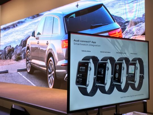 Audi Connect now features smartwatch integration for Apple and Android products, allowing owners to control aspects of their vehicles from their wrist.