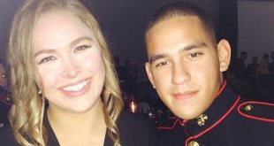 Ronda Rousey Fulfills Promise to Soldier by Accompanying Him to Marine Corps Ball