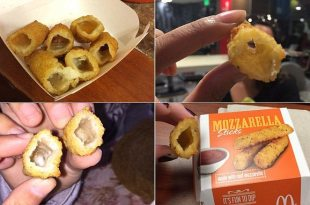 Photos Emerge Appearing to Show McDonald's Mozzarella Sticks Without Cheese