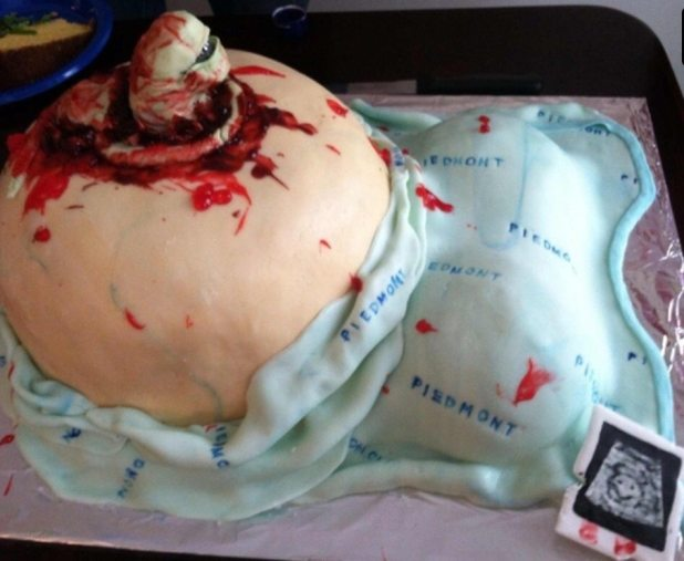 21 Baby Shower Cakes We Don't Recommend