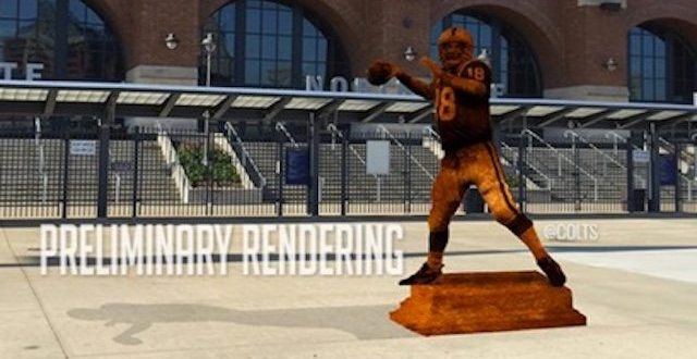 Colts Will Retire No. 18, Build Peyton Manning Statue