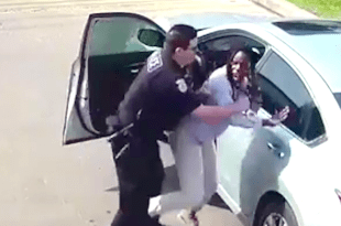 VIDEO: Houston Officer Attacks Woman at Traffic Stop Who Called 911 Because She Feared Him