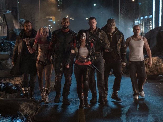 """""""It hardly matters who the 'Suicide Squad' is fighting or why. These supervillains just don't feel like they belong in the same zip code as DC's gritty urban antiheroes, let alone the same movie,"""" The Daily Beast said."""