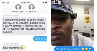 Grandma Texts Wrong Teen for Thanksgiving, Now the Families Will Eat Together
