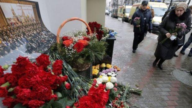 Russia Plane Crash: Huge Search For Bodies in Black Sea