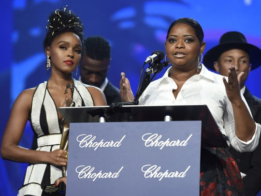 """'Hidden Figures,' said Octavia Spencer, """"serves as a reminder of what we can do when we get rid of isms... I hope it serves as a reminder that we can achieve the extraordinary."""" (Photo: Chris Pizzello, Invision/AP)"""