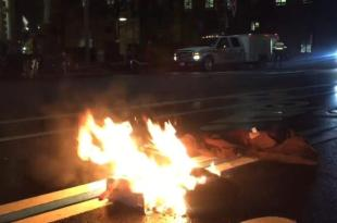 Protester Tries to Light Himself on Fire Outside Trump Hotel in Washington, D.C.