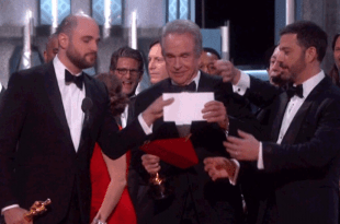 Award MixUp Moonlight Wins Best Picture Instead of LA LA Land Oscars