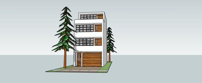 _townhouse model 01