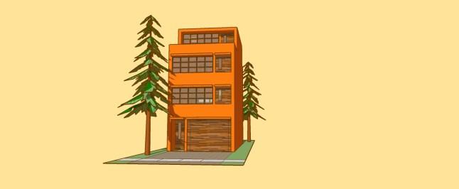 _townhouse model ORANGE