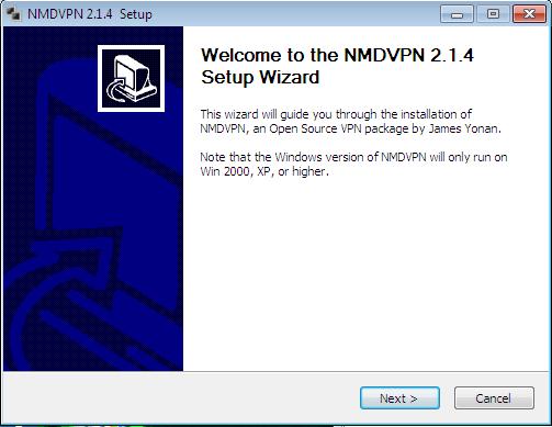 install Comment utiliser NMDVPN pour l'internet gratuit