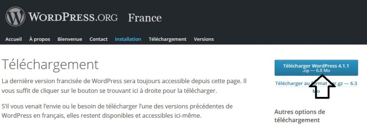 Wordpress derniere version