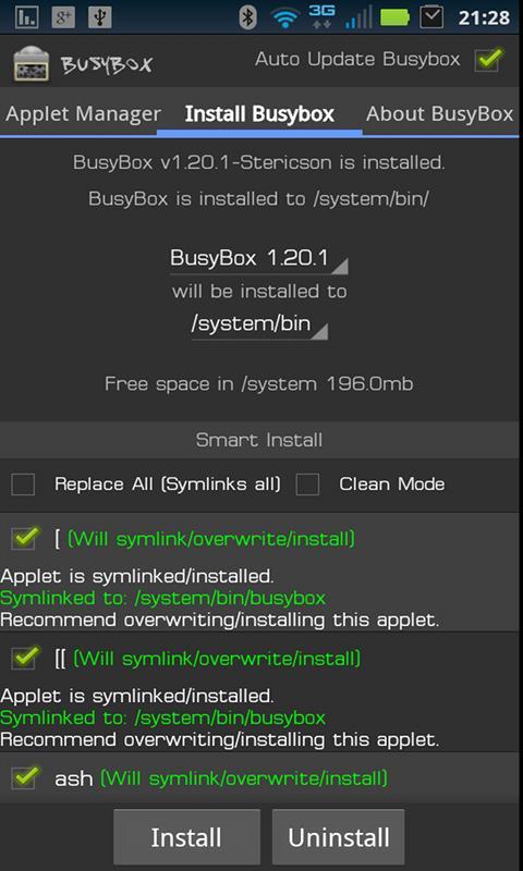 installer busybox