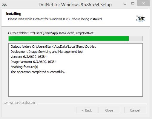 microsoft  net framework 3 5 offline installer for windows 10