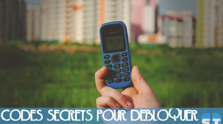 Codes secrets pour débloquer tout téléphone mobile portable