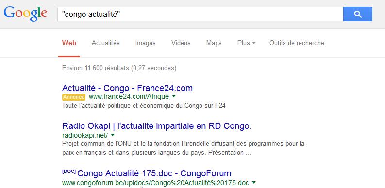 Mot ou de la phrase exacts 10 Astuces pour faire des Recherche Google Avancé comme un Pro