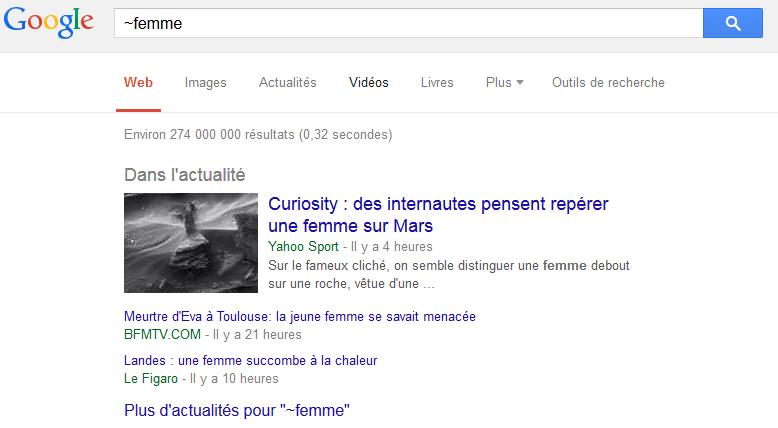 Recherche des mots similaires 10 Astuces pour faire des Recherche Google Avancé comme un Pro
