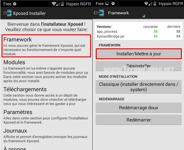 Installation Xposed Framework Xposed Framework : Top 10 modules indispensables pour Android