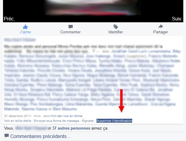 Supprimer Identification Facebook Facebook : Empêcher vos amis de vous identifier sur des photos