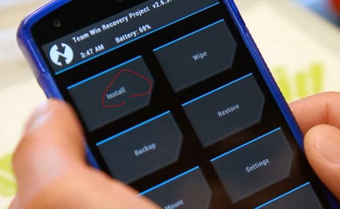 TWRP Install zip Comment changer de version Android avec une ROM custom
